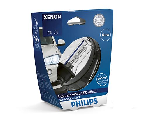 Ксенон Philips D3S WhiteVision gen2