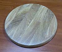 Доска разделочная круглая без желоба 240х20мм КЕДР