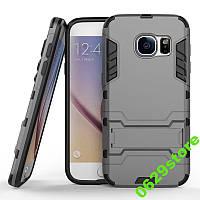 Чехол Samsung J710 / J7 2016 Hybrid Armored Case темно-серый