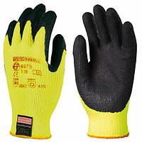 Перчатки покрытые латексом, для общих работ, утепленные. Размер 9