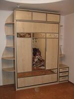Шкаф-кровать с комбинироваными фасадами, фото 1