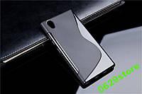 Чехол Lenovo P70 / P70t силикон TPU S-LINE черный