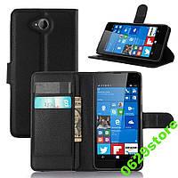 Чехол Microsoft Lumia 650 книжка PU-Кожа черный