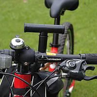 Велодержатель, расширитель руля велосипеда, подседела / вилки / рулевой колонки , пластиковый