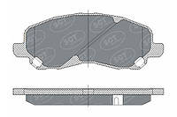 Колодка передняя Mitsubishi Galant,Lanser SCT-GERMANY (SP 273 PR)