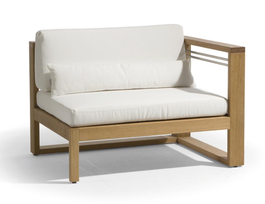 Кресло из дерева 006