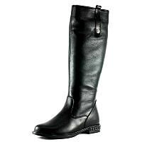 Сапоги зимние женские SND SDZ 422-1-2 черный с натуральной кожи размеры: 36 37 38 39