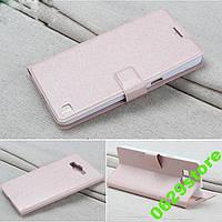 Чехол Samsung G530 / G531 / Galaxy Grand Prime книжка Flower Ultrathin розовое золото