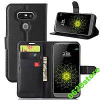 Чехол LG G5 / G5 SE / H840 / H850 / LS992 книжка PU-Кожа черный