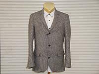 Мужской приталенный шерстяной пиджак Conbipel