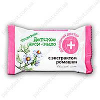 Детское крем-мыло с экстрактом ромашки 70гр