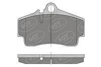 Колодка задняя PORSCHE 911,Boxster , CAYMAN SCT-GERMANY (SP 449 PR)