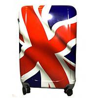 Чемодан пластиковый 60х45х30 см Flag 999_019L