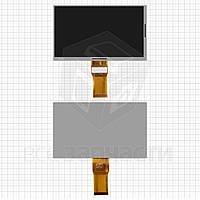 "Дисплей для планшета AMPE A76 7"", шлейф 65 мм, (164*97 мм), 50 pin, 7"", (1024*600)"