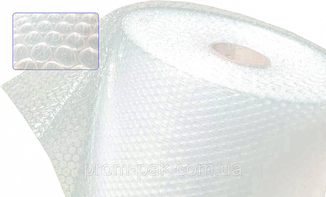 Пленка воздушно-пузырьчатая защитная 1,5м*100м,пленка для упаковки, защитная пузырчатая пленка.