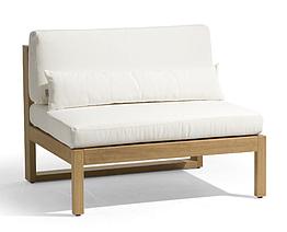 Кресло из дерева 008