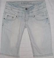 Шорты по колено AMISU! Размер S 34(26-27).