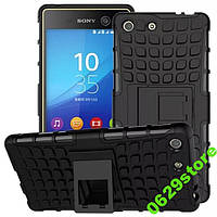 Чехол Sony M5 / E5603 / E5633 противоударный бампер черный