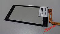 Тачскрин (сенсор) для Sony Ericsson MT27i Xperia Sola (Black) Original