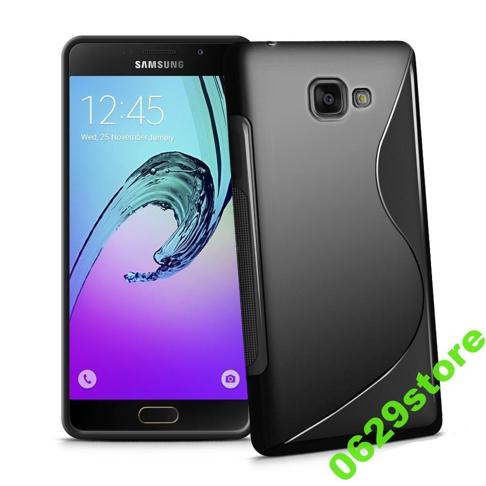 Чехол Samsung A510 / A5 2016 силикон TPU S-LINE черный