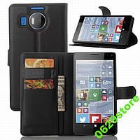 Чехол Microsoft Lumia 950XL книжка PU-Кожа черный