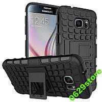 Чехол Samsung S7 / G930 противоударный бампер черный