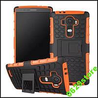 Чехол LG G4 / H818 противоударный бампер оранжевый