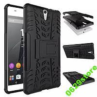 Чехол Sony C5 / C5 Ultra / E5533 противоударный бампер черный