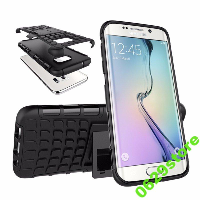 Чехол Samsung S7 Edge / G935 противоударный бампер черный