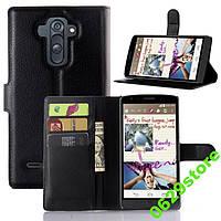 Чехол LG G4 Stylus / H540 / LS770 книжка PU-Кожа черный