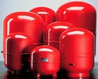 Расширительный мембранный бак отопления Reflex германского производителя.