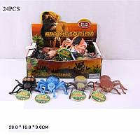 Животные резиновые Пауки 7427