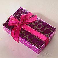 [8/5/3 см] Подарочная коробочка для для сережек и колец прямоугольная Змея средняя 24 шт., фото 1