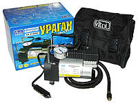 Автомобильный компрессор Ураган 12040 100psi/12Amp/35 автомобильный насос для подкачки шин от прикуривателя