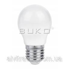 Светодиодная лампа шар WATC WT214 5W E27 5000K ALU+PC 410LM 220V 45*80MM