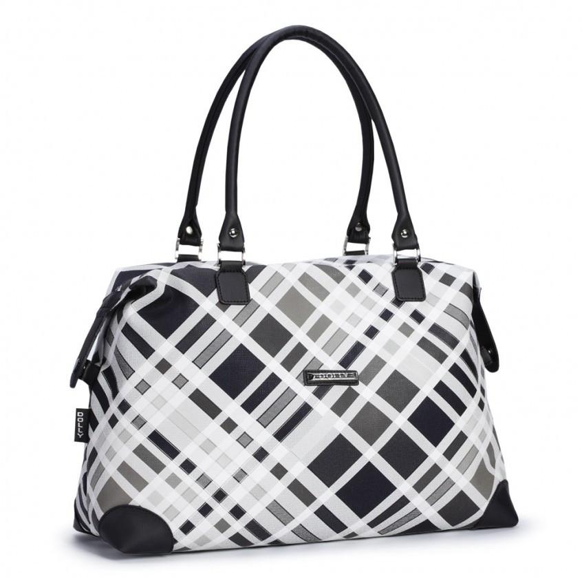 Женская сумка Dolly 452 классическая черная с белым Украина - Shoppingood в Харькове