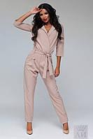 Комбинезон стильный брюками - 1259
