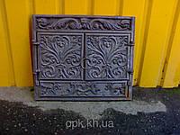 Портал чугунный камин 56см-66см фасад. Вес 30кг.