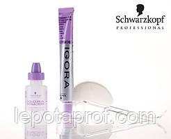 Краска для бровей и ресниц черная Schwarzkopf Professional Igora Bonacrom 15+10 ml