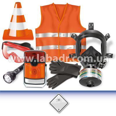ADR-комплект для опасных грузов, которым присвоен знак опасности № 2.3  - Лаборатория ADR в Киеве
