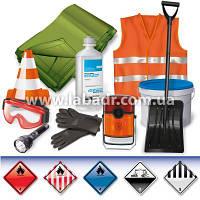 ADR-комплект для опасных грузов, которым присвоены знаки опасности № 3, 4.1, 4.3, 8 или 9