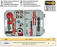 Набор для нарезания трубной резьбы 1/4-32 мм 13 шт VOREL-55800