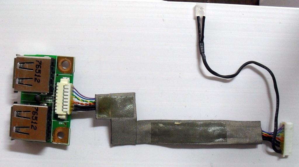009 Разъемы USB HP dv2000 v3000 - 48.4F604.011 50.4F529.00