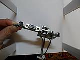 032 Разъемы VGA Аудио USB HP dv4000 - 48.49Q02.021, фото 3