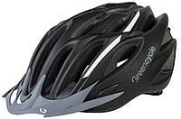 Шлем Green Cycle Rock размер 54-58см черно-белый