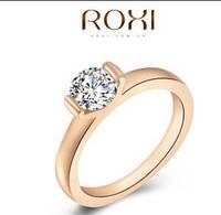 Кольцо, позолота,  покрытие розовое 18К золото, р. 17, 18 АКЦИЯ!