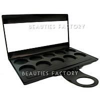 Пустой пан для теней с зеркалом 10 цветов Beauties Factory Empty Eyeshadow Case