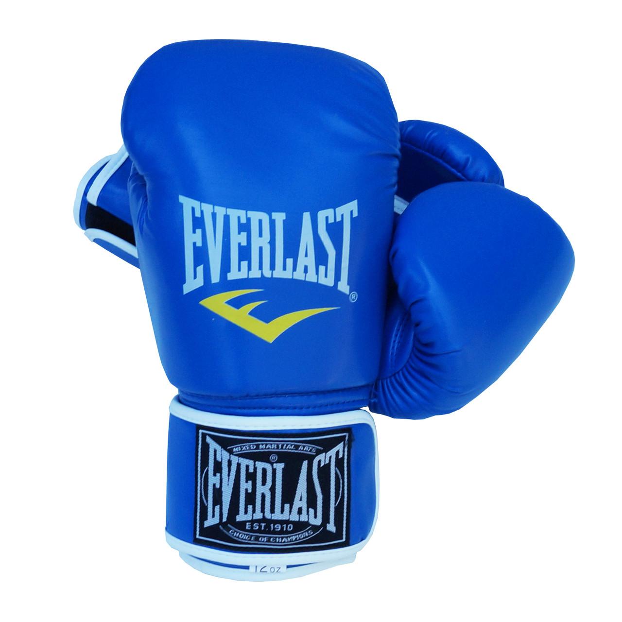 Боксерские перчатки Everlast ВО-3987 Blue