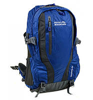 Рюкзак Туристический нейлон Royal Mountain 8331 blue, рюкзак качественный на 2 лямки