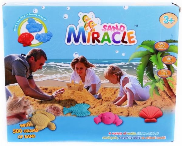 Кинетический песок Miracle